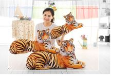 creative toy 3D dimensional prone tiger soft plush cushion,back cushion,throw pillow home decoration birthday gift p0425