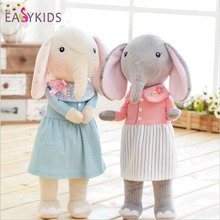 New METOO Lucky Elephant Girl Plush Doll Series Vitality Genuine Personalized Birthday Gifts Christmas(China)