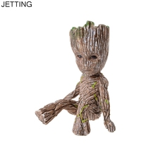 1pc Pop Figure Model Guardians of Galaxy Kids Toy Cartoon Comic Action Figure Tree Ornaments Home Table Decor(China)