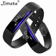ID115 Smart Bracelet Band Sleep Activity Fitness Tracker Alarm Clock Vibration Pedometer Wristband For Iphone Android Smartband(China)