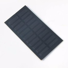 Wholesale! Monocrystallicon 0.8W 5.5V Mini Solar Cell Solar Module Small Solar Panel for Battery Charger 20pcs/lot Free Shipping(China)