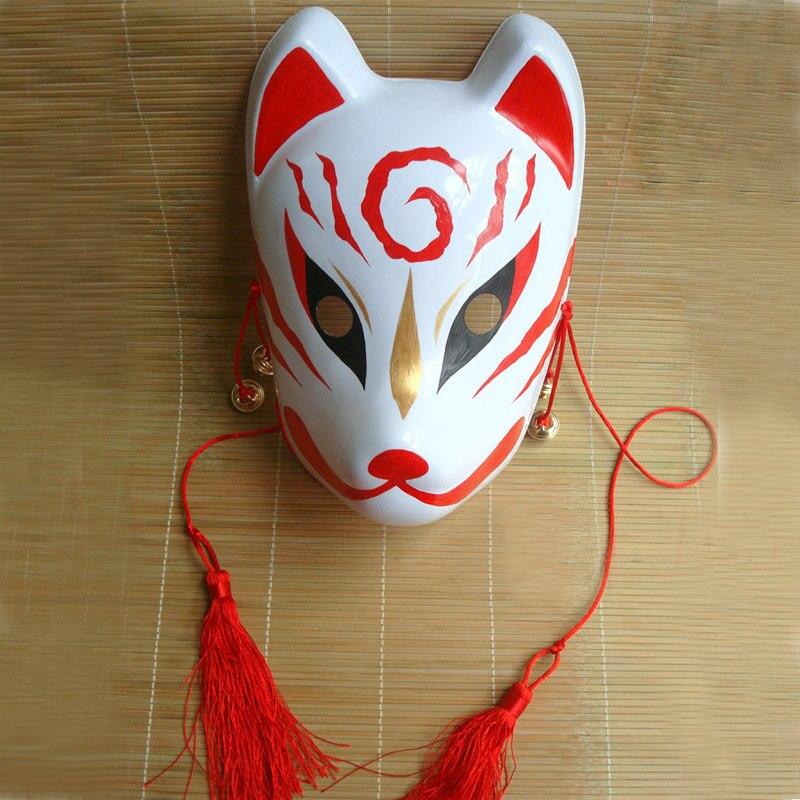 Маска лисы японская своими руками