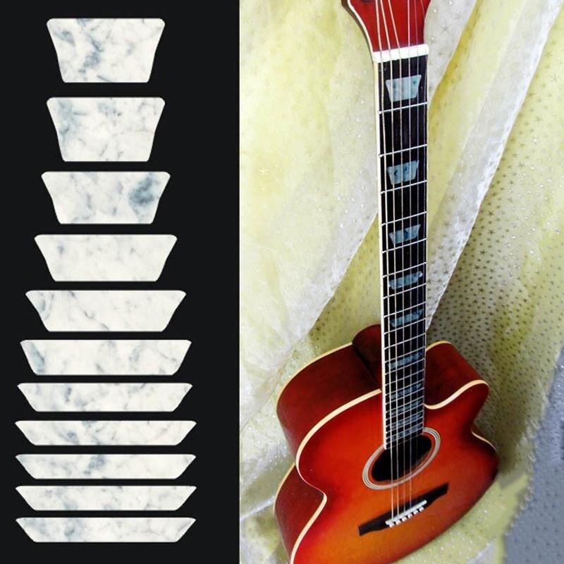 Надпись на грифе гитары своими руками 3