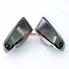 For KAWASAKI ZZR 400 ZZR600 ZZR400 ZZR 600 ZX600E 1990-1992 Motorcycle Rear Turn signal Blinker Lens Smoke
