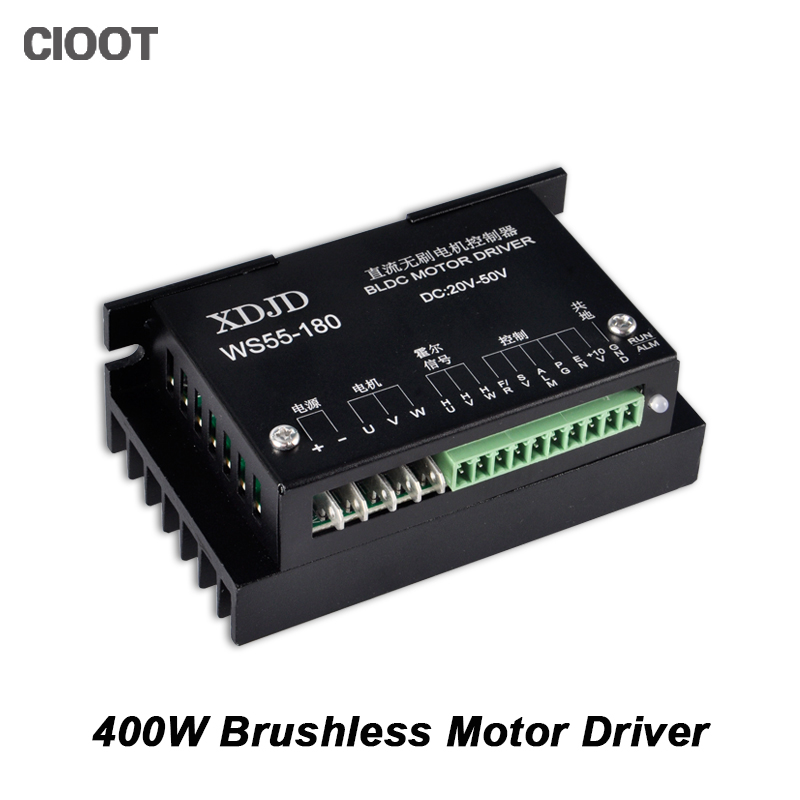 New CNC Controller DC 20-50V Stepper Motor Driver Brushless DC Motor Driver For 400W Machine Tool Spindle <br>