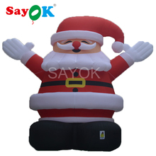 Giant Inflatable Santa Claus 8m/26.3ft High Christmas Decorations for Big Promotions or Advertising Decorations(China)