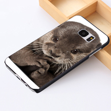 Fit for Samsung Galaxy S3 S4 S5 mini S6 S7 S8 edge plus+ Note2 3 4 5 back skins phone case cover Baby Otter Cute Wild Nature