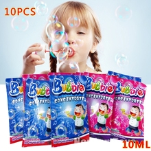 10pcs Bubble Liquid 100ml Concentrate Bubbles Liquid Soap Water Bubble Gun Accessories bubble water(China)