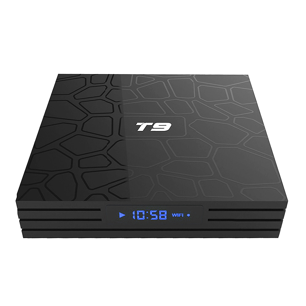 2018 T9 tv box android 8.1 WIFI 4GB 64GB TV Box Bluetooth 4.0 RK3328 Quad Core 4G 32G Smart tv box Set Top android 8.1 Box 5G