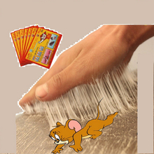 Efficient sticky mouse board super strong big rat paste clip off household mousetrap rat poison rat glue boards clip wholesale(China)