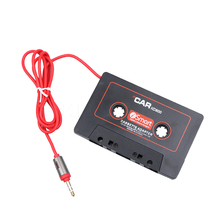 Universal Car Cassette Tape Adapter Cassette Mp3 Player Converter 3.5mm Jack Plug For iPod For iPhone AUX Cable CD Player(China)