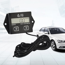 Hot Sale Digital Tachometer Meter Tachometer Auto tachometer For Auto Car 12V CAR LCD Display Car Styling Hot(China)