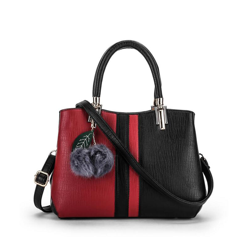 Popular Luxury Handbags Women Bags Designer Fashion Bolsa Feminina Lady Casual Patchwork Shoulder Cross-body Bag Leather Handbag<br><br>Aliexpress