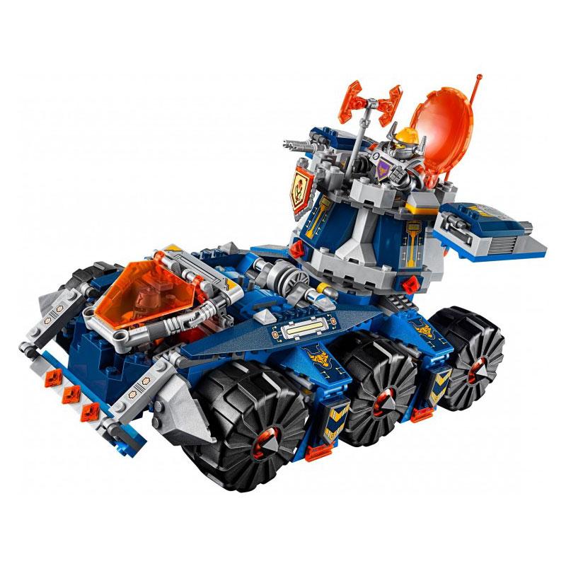lepin 704Pcs 14022 Knights Axls rollender Wachturm Model Building Kits Blocks Brick Toy Compatible 70322<br>