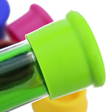 HOT Creative Silicone Rubber Wine Beer Bottle Stopper Cap Cover Sealer Pure Color  91N6