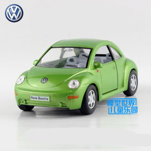 Free Shipping/KiNSMART Toy/Diecast Model/1:32 Scale/Volkswagen New Beetle/Pull Back Car/Collection/Gift For Children(China)
