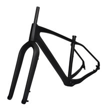Buy Free 2018 new type 26er carbon fat bicycle frame fork snow bike QR thru axle 100mm BSA UD matt 4.8 tyre FM190 model for $599.00 in AliExpress store