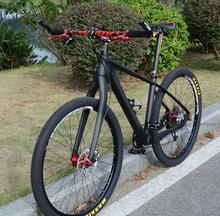 Kalosse 27.5er frame Adluts bicycle carbon mountain bicycle ,27.5*2.1tires, 24/27/30 speed, carbon bike(China)