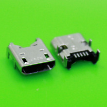 100pcs/lot Repair parts 5-pin Mini Micro USB Jack connector socket for tablet pc Acer Iconia Tab B1-A71 A200