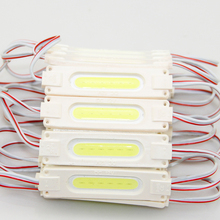 200pcs/lot COB LED Module 2W DC12V COB light Advertising sign Waterproof Led Sign Backlight Channel Letters white warm white(China)