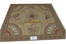 Коврик для гостиной комнаты ковер aubusson ковер ручной работы шерстяные ковры 244 см x 244 см (8 'x 8') м ym08gc156aubyg6 квадратный(China)