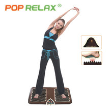 POP RELAX NUGA BEST NM55 tourmaline germanium foot arch acupuncture massage mat second heart electric heating foot massager F01B(China)