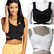Tops Crops for summer sexy Bustier Bra Crop Top slim Fitting Tank Tops Corset Clubwear Sexy Backless Hollow Out Vest Female