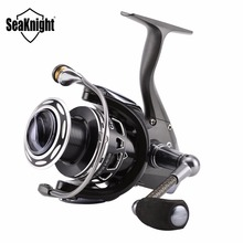SeaKnight GA Spinning Fishing Reel 13BB Light Sea CarpWorm Worm Shaft Structure Wheel Lure Carbon Fiber Handle With Spare Spool