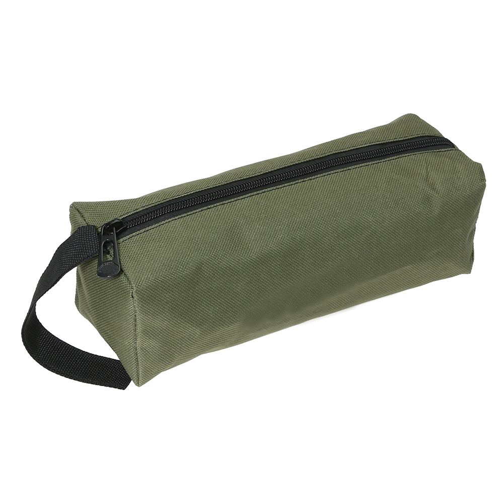 1 Pc Storage Tool Bag Oxford Canvas Waterproof Bag Multifunctional for Small Metal Tool Parts With Carrying Handle Strips
