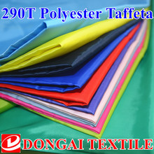 100cm*150cm 290T polyester taffeta lining fabric /lining fabric for Cotton-padded jacket(China)