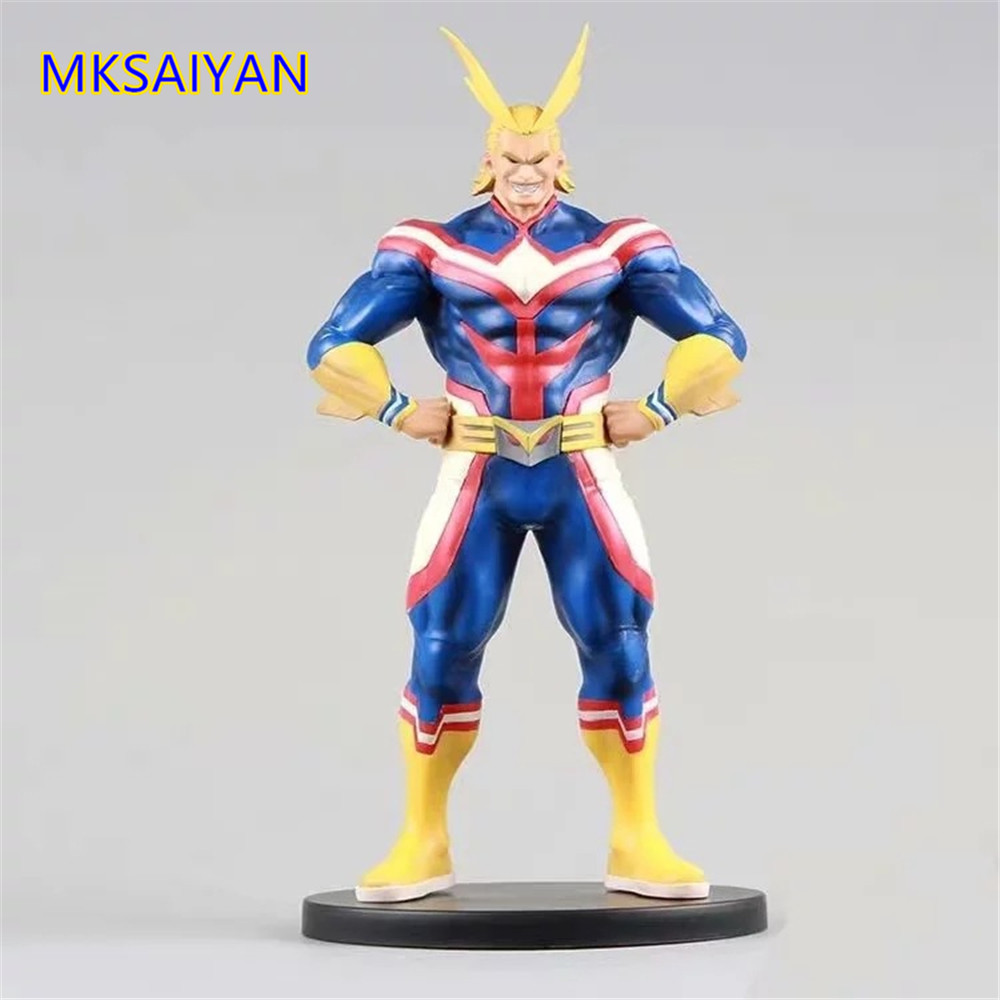 My Hero Academia All Might Anime Figures Age Of Heroes PVC Toys For Children Action Figma Brinquedos Model One For All Dolls