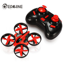 Hot Sale Eachine E010 Mini 2.4G 4CH 6 Axis 3D Headless Mode Memory Function RC Quadcopter RTF RC Tiny Gift Present Kid Toys(China)