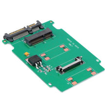 Hot 2.5-inch Green High-capacity high-power Serial mSATA to SATA Adapter(China)