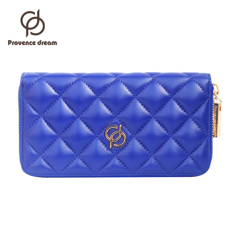 PROVENCE DREAM dermis Lady Party Clutch Large Capacity Long Woman Wallets Designers Brand Purse Card Holder PD12<br><br>Aliexpress