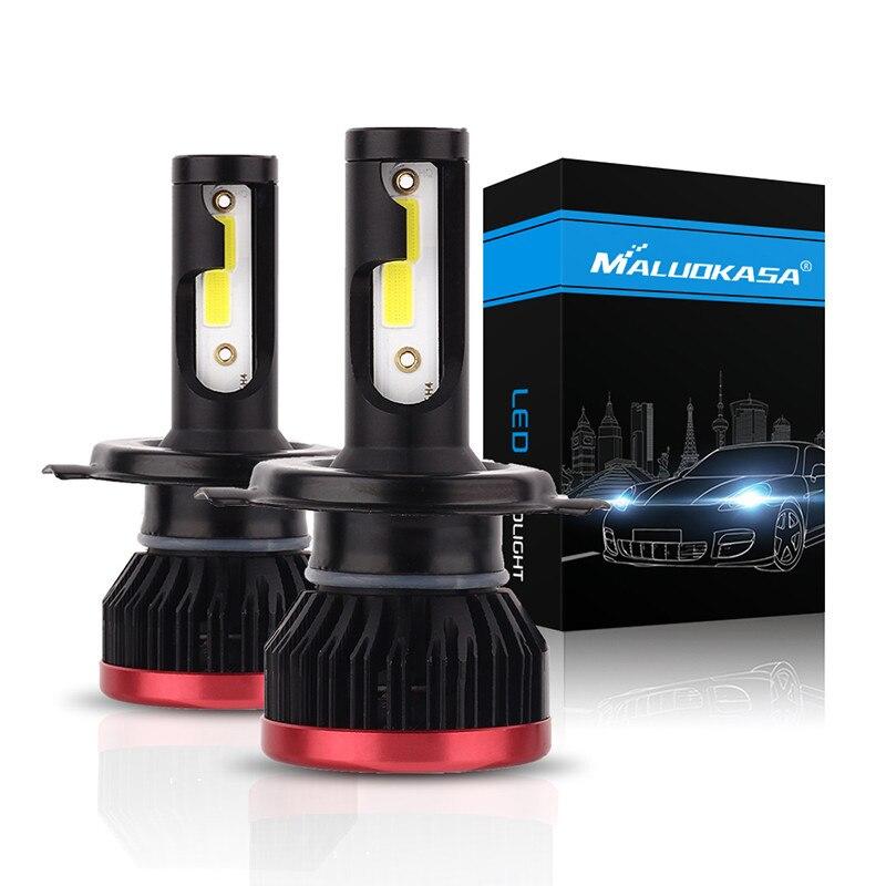 Mini H7 100W 20000LM DOB LED Chips Headlight Bulbs (8)