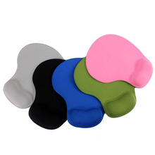 solid silica gel wrist mouse pad export quality fresh ultra cushioned palm rest mouse pad