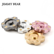 Buy JIMMY BEAR 1 Pcs Hand Spinner Fidget Spinner Stress Aluminum Brass Hand Spinners ADHD EDC Anti Stress Toys for $22.54 in AliExpress store