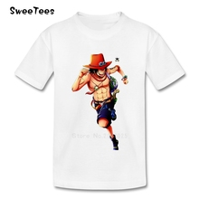 One Piece Luffy Boy Girl T Shirt Short Sleeve Cotton Crew Neck Tshirt Children Clothing 2017 Best Selling T-shirt For Toddler
