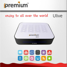 Ipremium Ulive TV Box Set Top Box HD wifi media player Support Youtube,Vimeo,Netflix,Hulu,Mass Apps Available