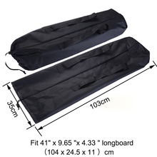 "Longboard Carry Bag Backpack Carrier for 41"" x 9.65 ""x 4.33 "" Skateboard"