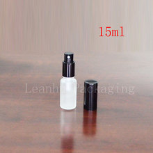 15ml frosted natural channel balance oil bottle wholesale deployment points bottling lotion bottles of mist spray bottle(China)