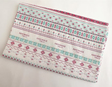 cotton & linen 150cm wide tolie fabric cross stitch print for cushion,bag,table cloth,napkin,tea towel.zakka