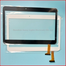 Replacement Capacitive touch panel Digitizer Sensor For cable code FX-205-V1 Touch Screen 10.1'' inch Multitouch Panel PC(China)