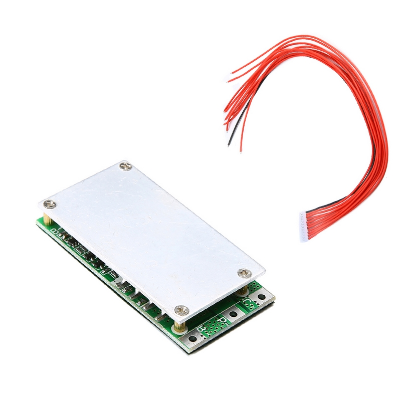 1pc Li-ion Batteries 10S 36V 37V 15A Lithium Battery BMS PCB PCM Suitable For Ebike Electric Bicycle 63x32x10mm