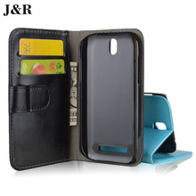 Luxury Leather case for HTC Desire SV T326E / T 326 E flip cover case housing for HTCT326E DesireSV mobile phone covers cases