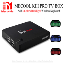 Buy MECOOL KIII Pro DVB T2+S2 Android TV Box 3G 16G Amlogic S912 Octa Core 4K WiFi BT4.0 Media Player kiii amlogic s905 tv box 3g/16 for $119.69 in AliExpress store