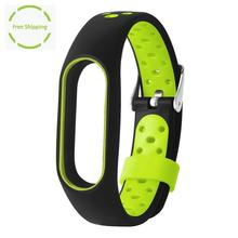 Buy New WaterProof Lightweight Ventilate TPE Wrist Strap Wristband Bracelet Xiaomi Mi Band 2 Replacement Bracelet Accessories for $2.64 in AliExpress store