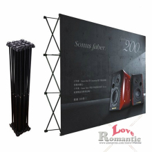 Tradeshow Wall&Media/Wedding/Party Flower Wall&Fabric Tension Banner Pop Up Exhibition Booth Display Stand&Backdrop poster board
