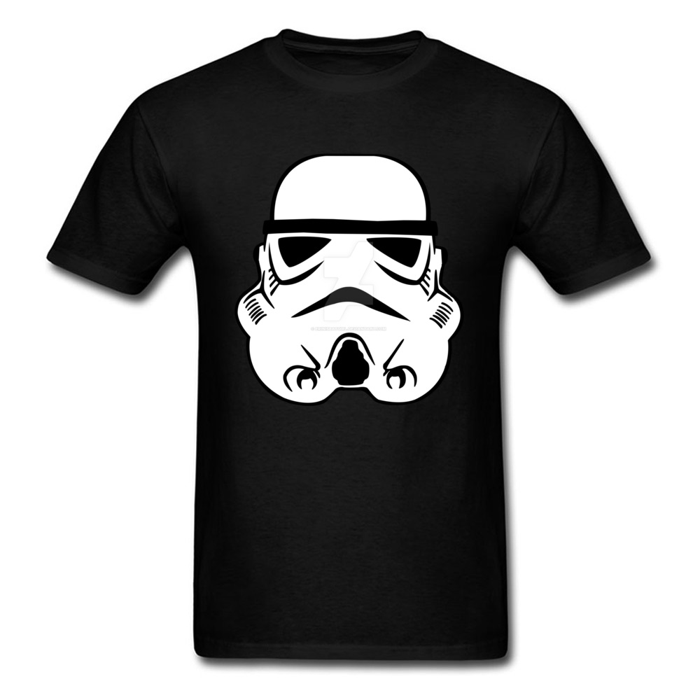 Newest Stormtrooper 10 Short Sleeve T-Shirt Summer/Autumn Round Neck Pure Cotton Tops & Tees for Men Tops Shirt Simple Style Stormtrooper 10 black