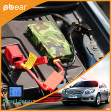 Car Emergency Jump Starter AUTO Engine Booster battery power pack supply charger with  LED light USB port Jump Lead for car cell